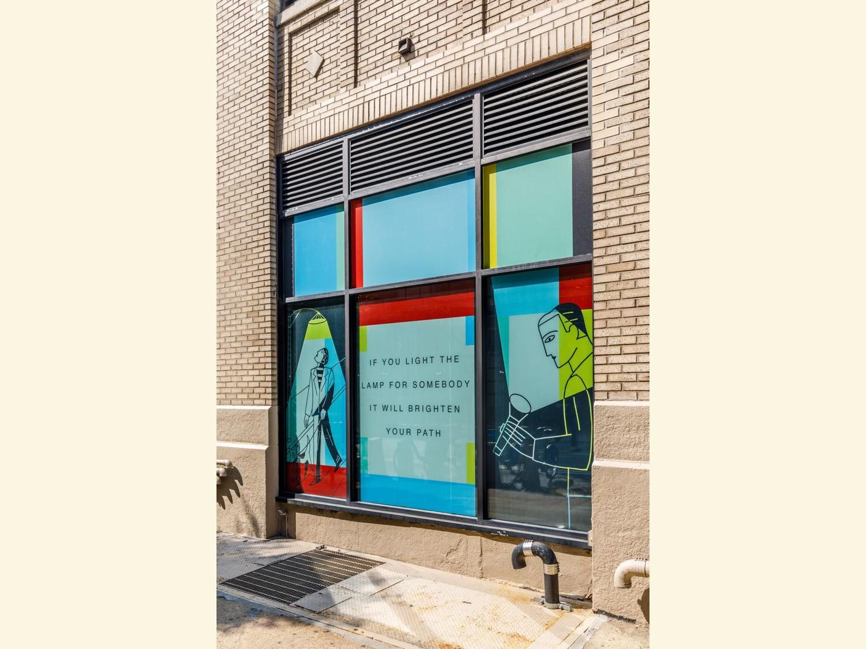 200 Varick Street GFPRE Cares Installation