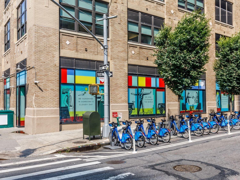 200 Varick Street Anthony Russo Installation